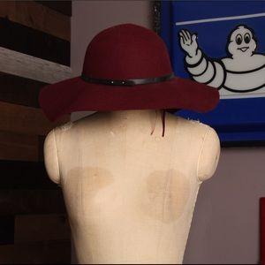 C & C CALIFORNIA - Maroon Floppy Hat